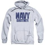 Hoodie: Navy - Brother Pullover Hoodie