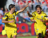 May 31, 2014 - MLS: Columbus Crew vs Toronto FC - Agustin Viana, Jairo Arrieta Photo by John E. Sokolowski