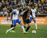 Aug 9, 2014 - MLS: Montreal Impact vs Philadelphia Union - Sebastien Le Toux, Maxim Tissot Photo by John Geliebter