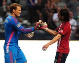 Jul 12, 2014 - MLS: Chivas USA vs Vancouver Whitecaps - Mauro Rosales, Dan Kennedy Photo by Anne-Marie Sorvin