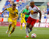 Jul 12, 2014 - MLS: Columbus Crew vs New York Red Bulls - Wil Trapp, Thierry Henry Photo by Jim O'Connor