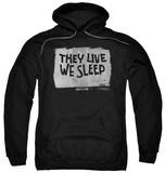 Hoodie: They Live - We Sleep Pullover Hoodie