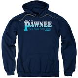 Hoodie: Parks & Recreation - Pawnee Pullover Hoodie
