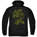 Hoodie: Jurassic Park - Rex Mount Pullover Hoodie
