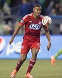 2014 MLS Playoffs: Nov 10, FC Dallas vs Seattle Sounders - Tesho Akindele Photo by Joe Nicholson