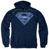 Hoodie: Superman - U N Shield Pullover Hoodie