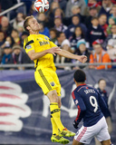2014 MLS Playoffs: Nov 9, Columbus Crew vs New England Revolution - Charlie Davies, Tyson Wahl Photo by Stew Milne