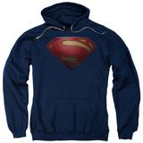 Hoodie: Man Of Steel - Mos Shield Pullover Hoodie