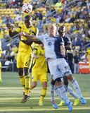 Jul 16, 2014 - MLS: Sporting KC vs Columbus Crew - Tony Tchani Photo by Joseph Maiorana