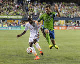 Aug 10, 2014 - MLS: Houston Dynamo vs Seattle Sounders - DaMarcus Beasley Photo by Steven Bisig