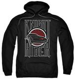 Hoodie: Knight Rider - Logo Pullover Hoodie