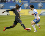 Apr 26, 2014 - MLS: Philadelphia Union vs Montreal Impact - Maurice Edu Photo by Eric Bolte