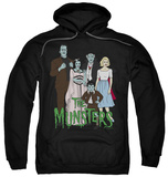 Hoodie: The Munsters - The Family Pullover Hoodie