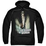 Hoodie: Bionic Woman - Motion Blur Pullover Hoodie