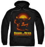 Hoodie: Dawn Of The Dead - Dawn Collage Pullover Hoodie