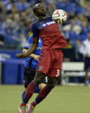 Apr 12, 2014 - MLS: Chicago Fire vs Montreal Impact - Jhon Kennedy Hurtado Photo by Eric Bolte