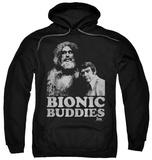 Hoodie: The Six Million Dollar Man - Bionic Buddies Pullover Hoodie