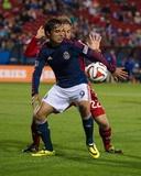 Mar 22, 2014 - MLS: Chivas USA vs FC Dallas - Erick Torres, Stephen Keel Photo by Jerome Miron
