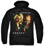 Hoodie: Bride Of Chucky - Chucky Gets Lucky Pullover Hoodie