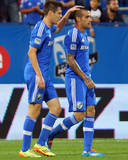Jul 27, 2014 - MLS: Portland Timbers vs Montreal Impact - Andres Romero, Maxim Tissot Photo by Jean-Yves Ahern