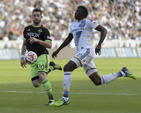 2014 MLS Western Conference Championship: Nov 23, Seattle Sounders vs LA Galaxy - Gyasi Zardes Photo by Kelvin Kuo