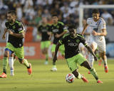 2014 MLS Western Conference Championship: Nov 23, Seattle Sounders vs LA Galaxy - Obafemi Martins Photo af Kelvin Kuo