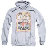Hoodie: Emergency - Retro Cast Pullover Hoodie