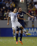Aug 23, 2014 - MLS: Vancouver Whitecaps vs Los Angeles Galaxy - Landon Donovan, Andy O'Brien Photo by Kelvin Kuo