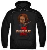 Hoodie: Child's Play 2 - Heres Chucky Pullover Hoodie