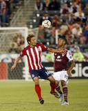 Jul 25, 2014 - MLS: Chivas USA vs Colorado Rapids - Gabriel Torres, Akira Kaji Photo by Chris Humphreys