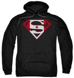Hoodie: Superman - Canadian Shield Pullover Hoodie