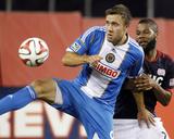 Jun 28, 2014 - MLS: Philadelphia Union vs New England Revolution - Andrew Wenger, Andrew Farrell Photo by Stew Milne