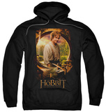 Hoodie: The Hobbit: An Unexpected Journey - Bilbo Poster Pullover Hoodie