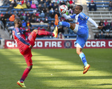 Apr 5, 2014 - MLS: Philadelphia Union vs Chicago Fire - Patrick Nyarko, Fabio Alves Photo by Mike Dinovo