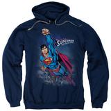 Hoodie: Superman - Twilight Flight Pullover Hoodie