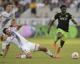 2014 MLS Western Conference Championship: Nov 23, Seattle Sounders vs LA Galaxy - Obafemi Martins Photo by Kelvin Kuo