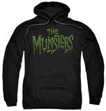 Hoodie: The Munsters - Distress Logo Pullover Hoodie