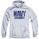 Hoodie: Navy - Grandma Pullover Hoodie