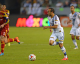 2014 MLS Playoffs: Nov 9, Real Salt Lake vs Los Angeles Galaxy - Kyle Beckerman, Landon Donovan Photo by Jake Roth