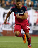 Sep 7, 2014 - MLS: Chicago Fire vs New England Revolution - Quincy Amarikwa Photo by Winslow Townson