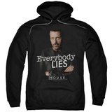 Hoodie: House - Everybody Lies Pullover Hoodie