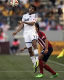 Mar 16, 2014 - MLS: Vancouver Whitecaps vs Chivas USA - Erick Torres, Steven Beitashour Photo by Kelvin Kuo