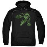 Hoodie: Jurassic Park - Raptor Mount Pullover Hoodie