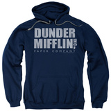 Hoodie: The Office - Dunder Mifflin Distressed Pullover Hoodie