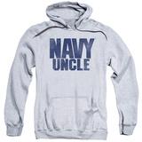 Hoodie: Navy - Uncle Pullover Hoodie