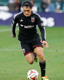 2014 MLS Playoffs: Nov 8, New York Red Bulls vs D.C. United - Fabian Espindola Photo by Geoff Burke