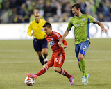 2014 MLS Playoffs: Nov 10, FC Dallas vs Seattle Sounders - Mauro Diaz Photo af Steven Bisig