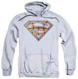 Hoodie: Superman - Basketball Shield Pullover Hoodie