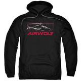 Hoodie: Airwolf - Grid Shirts