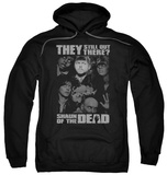 Hoodie: Shaun Of The Dead - Still Out There Pullover Hoodie